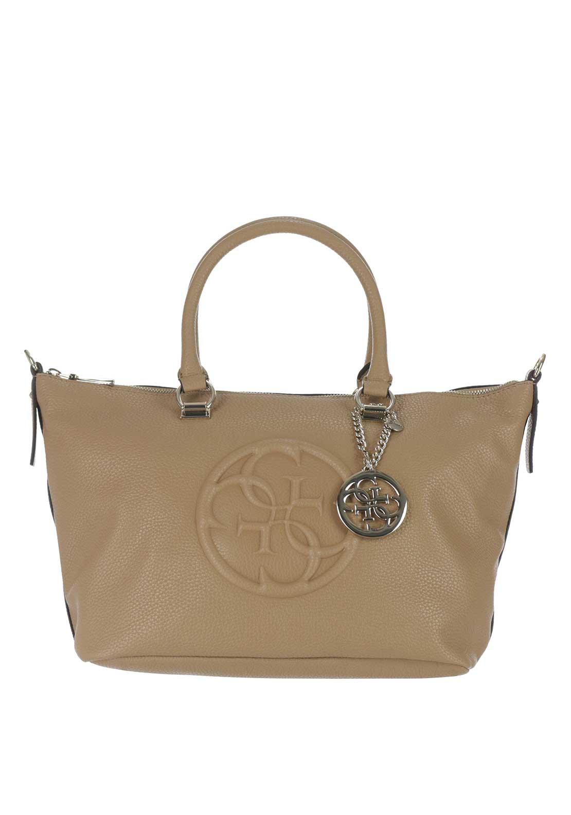 Guess Korry Crush Tote Bag, Camel