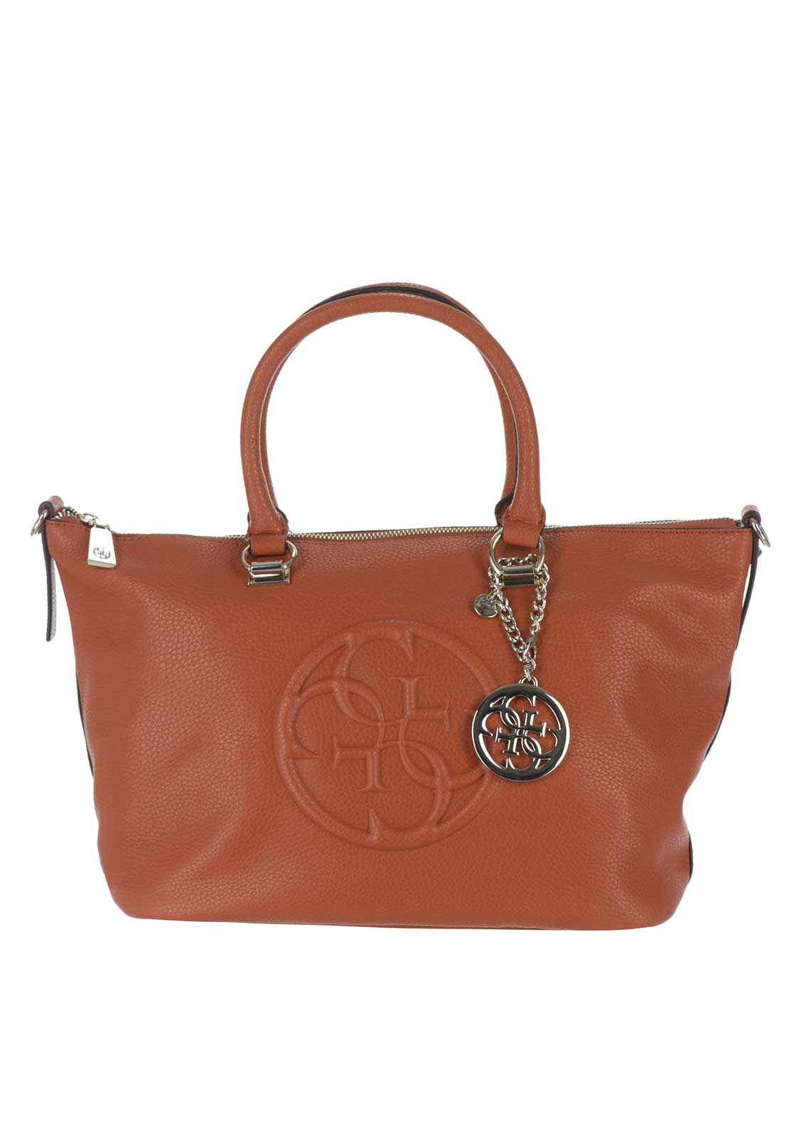 Guess Korry Crush Tote Bag, Spice