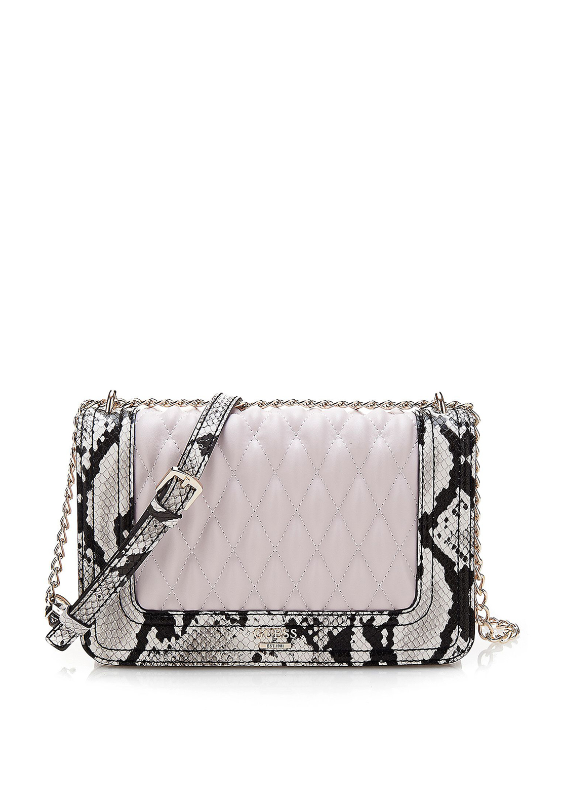 Guess Marisa Cross Body Bag, Python Print