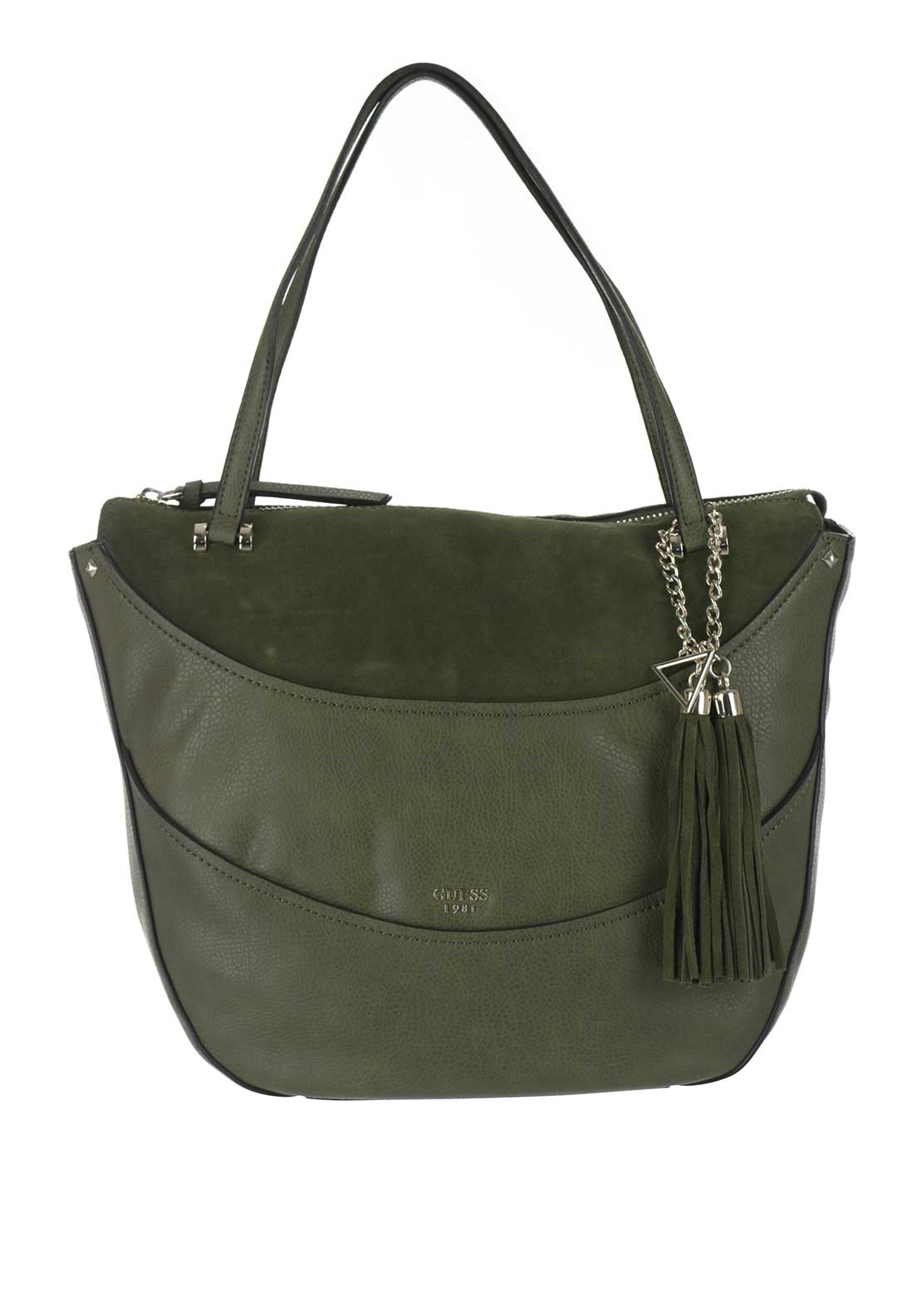 Guess Solene Shoulder Bag, Olive