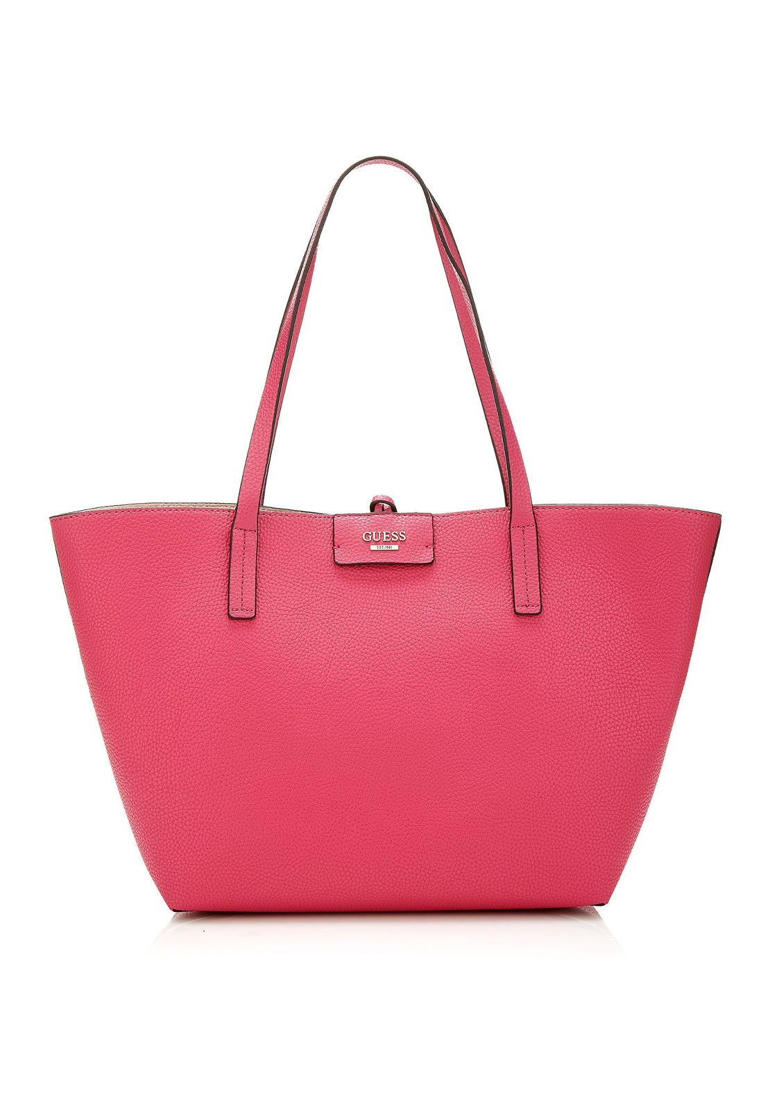 Guess Bobbi Reversible Tote Bag, Passion Pink