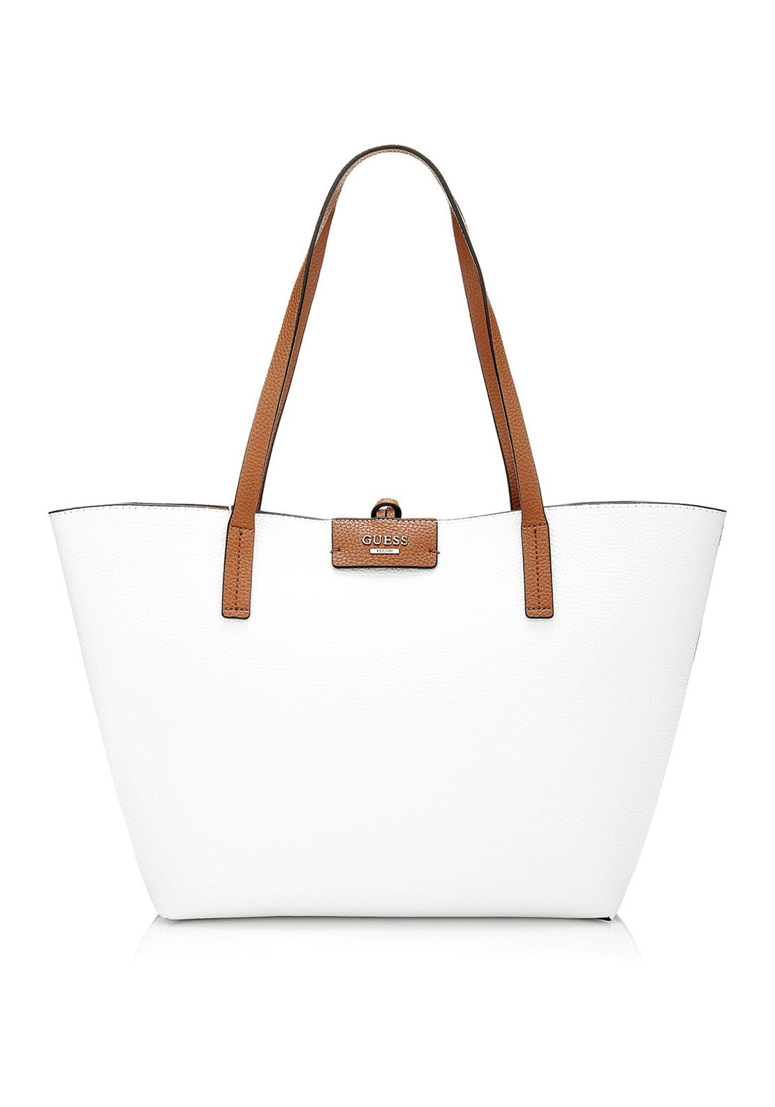 Guess Bobbi Reversible Tote Bag, White
