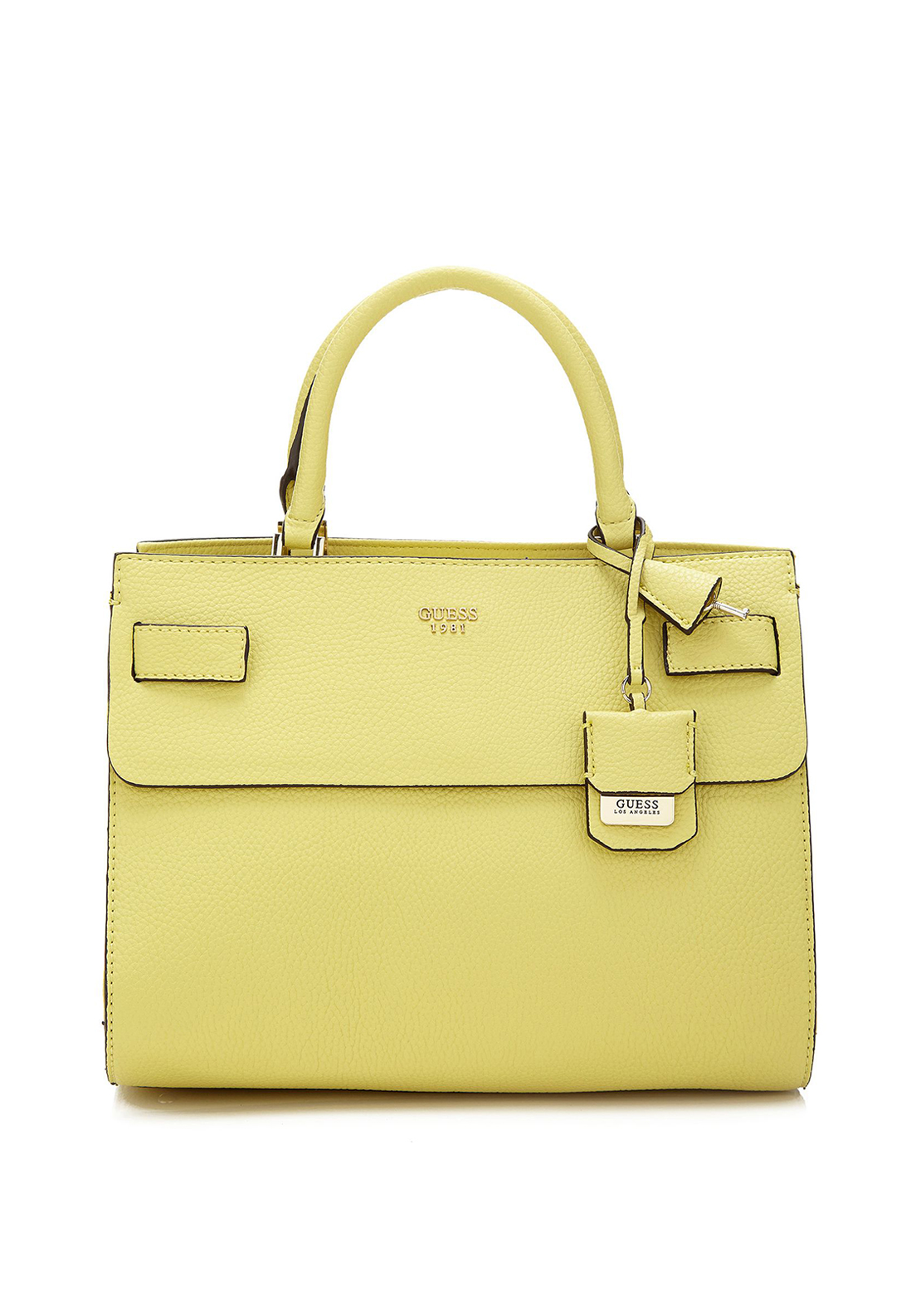 Guess Cate Tote Bag, Citron Lime Green