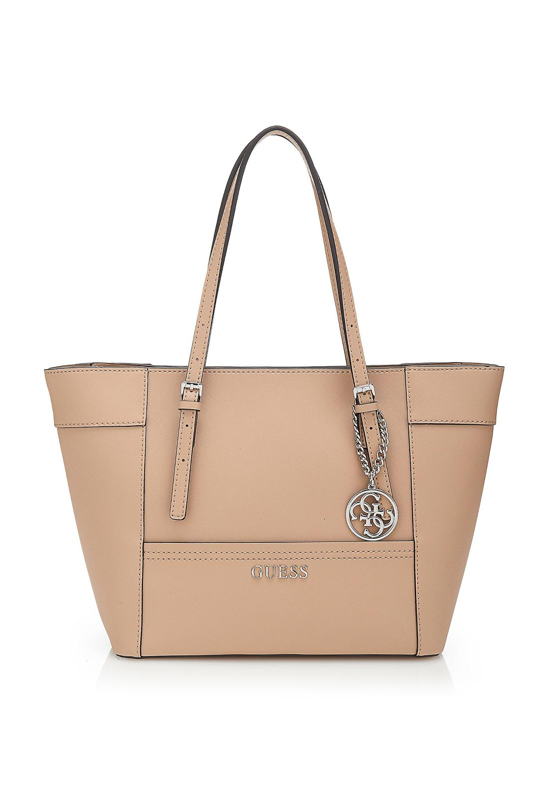 Guess Delaney Classic Tote Bag, Tan