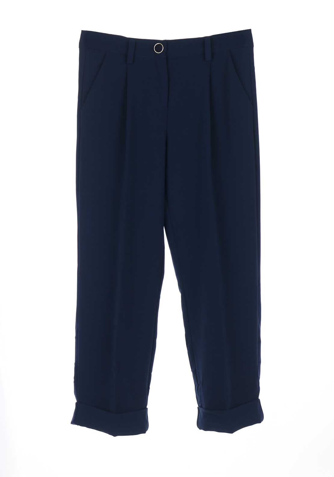 Guess Girls Tailored 7/8 Trousers, Navy