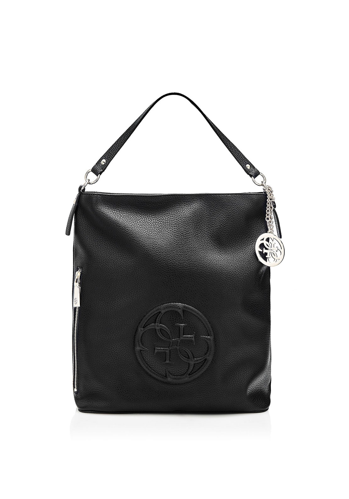 Guess Korry Crush Shoulder Bag, Black