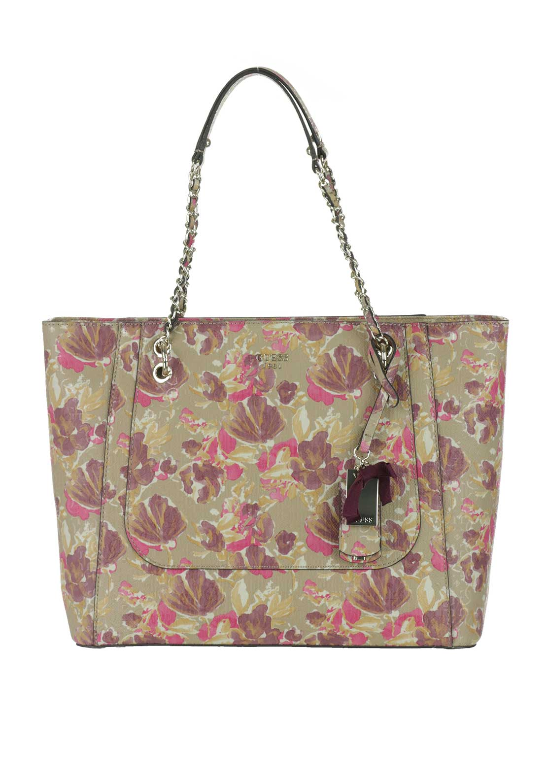 Guess Marian Shopper Bag, Floral Multi