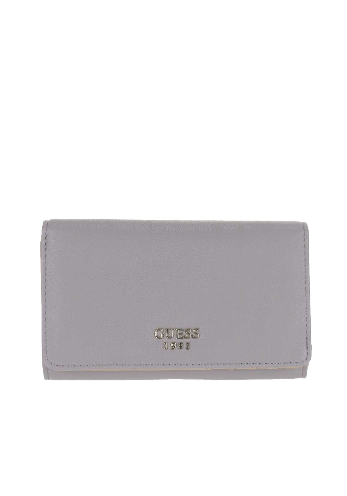 Guess Cate Fold Over Wallet, Grey