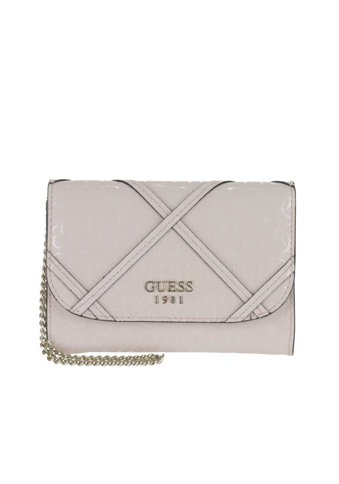 Guess Winett Double Date Wallet, Powder Pink