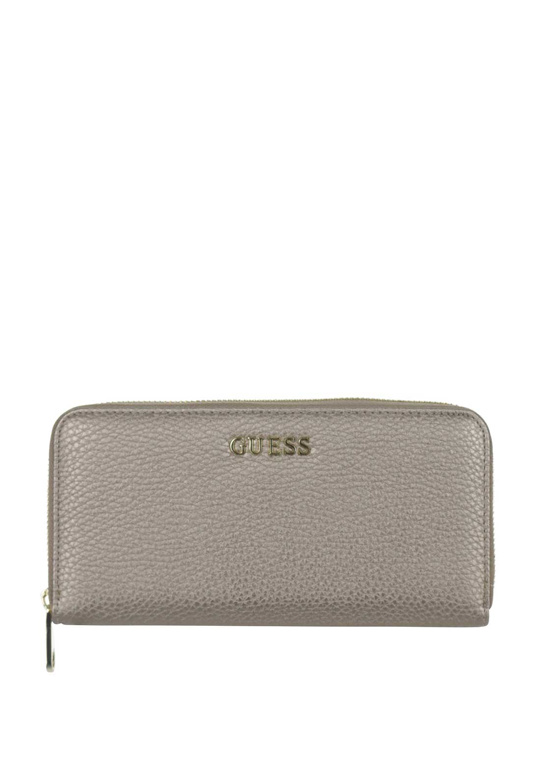 Guess Small Zip around Purse, Pewter