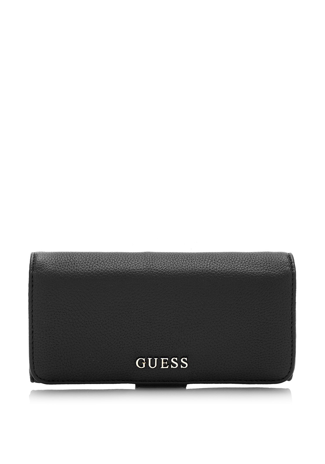 Guess Desiree Fold-Out Clutch Wallet, Black