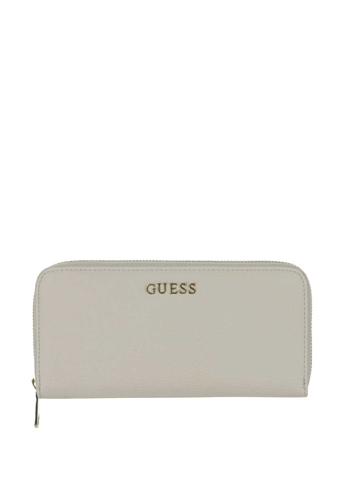 Guess Small Zip around Purse, Cement