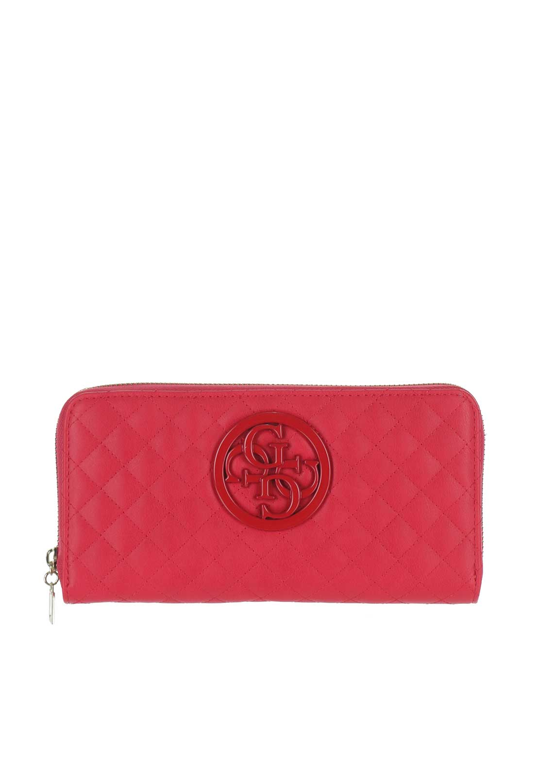 Guess G Lux Quilted Purse, Red