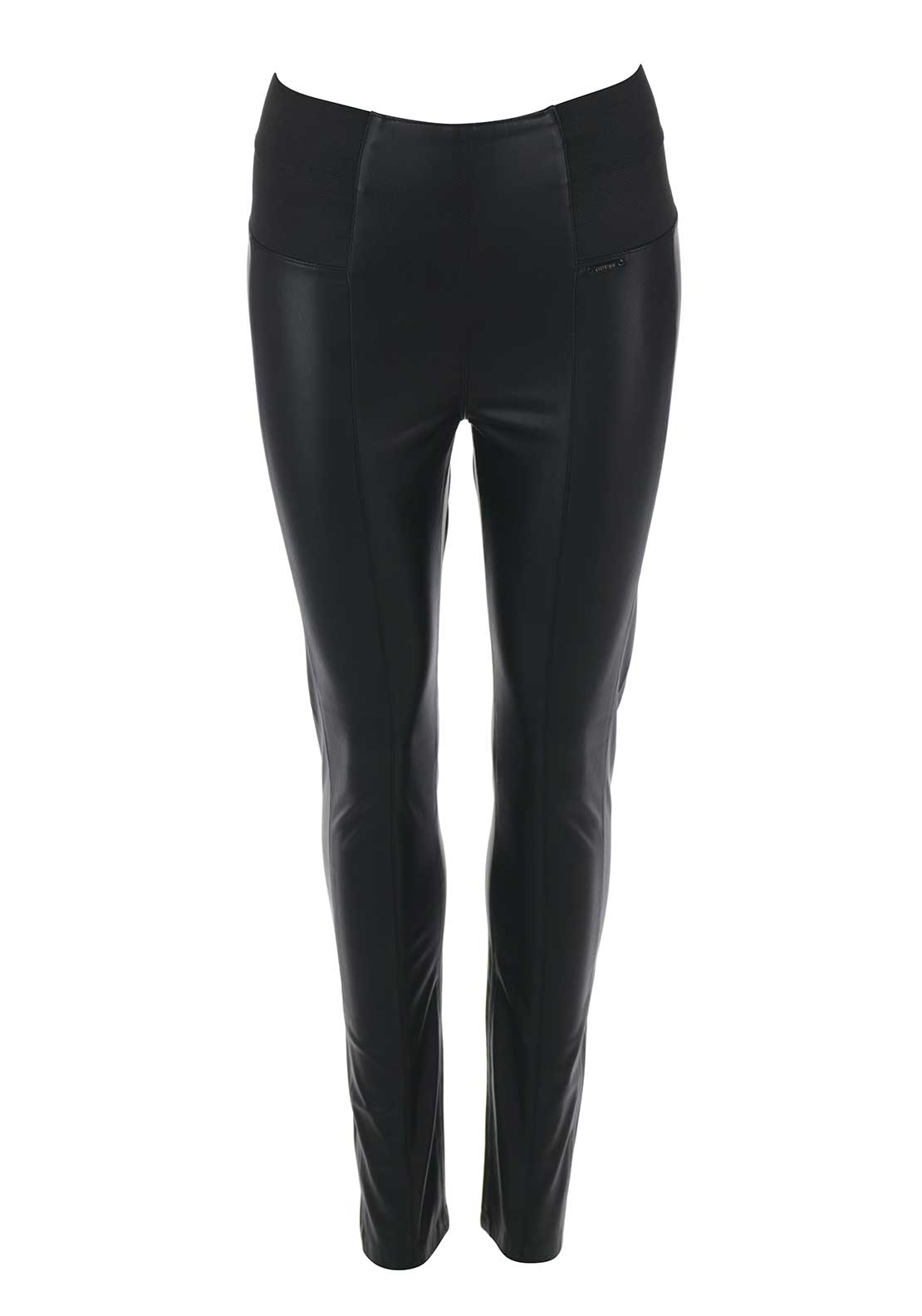 Guess Womens Suzanne Leggings, Black