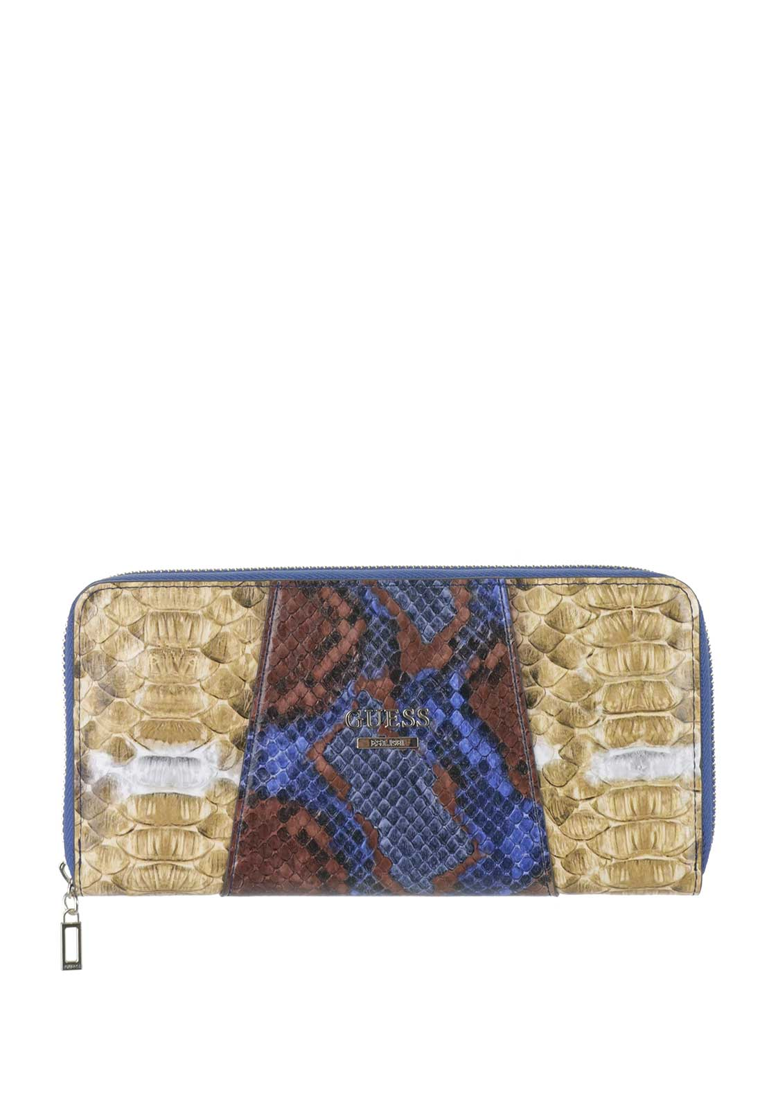 Guess Gia SLG Zip Around Purse, Python