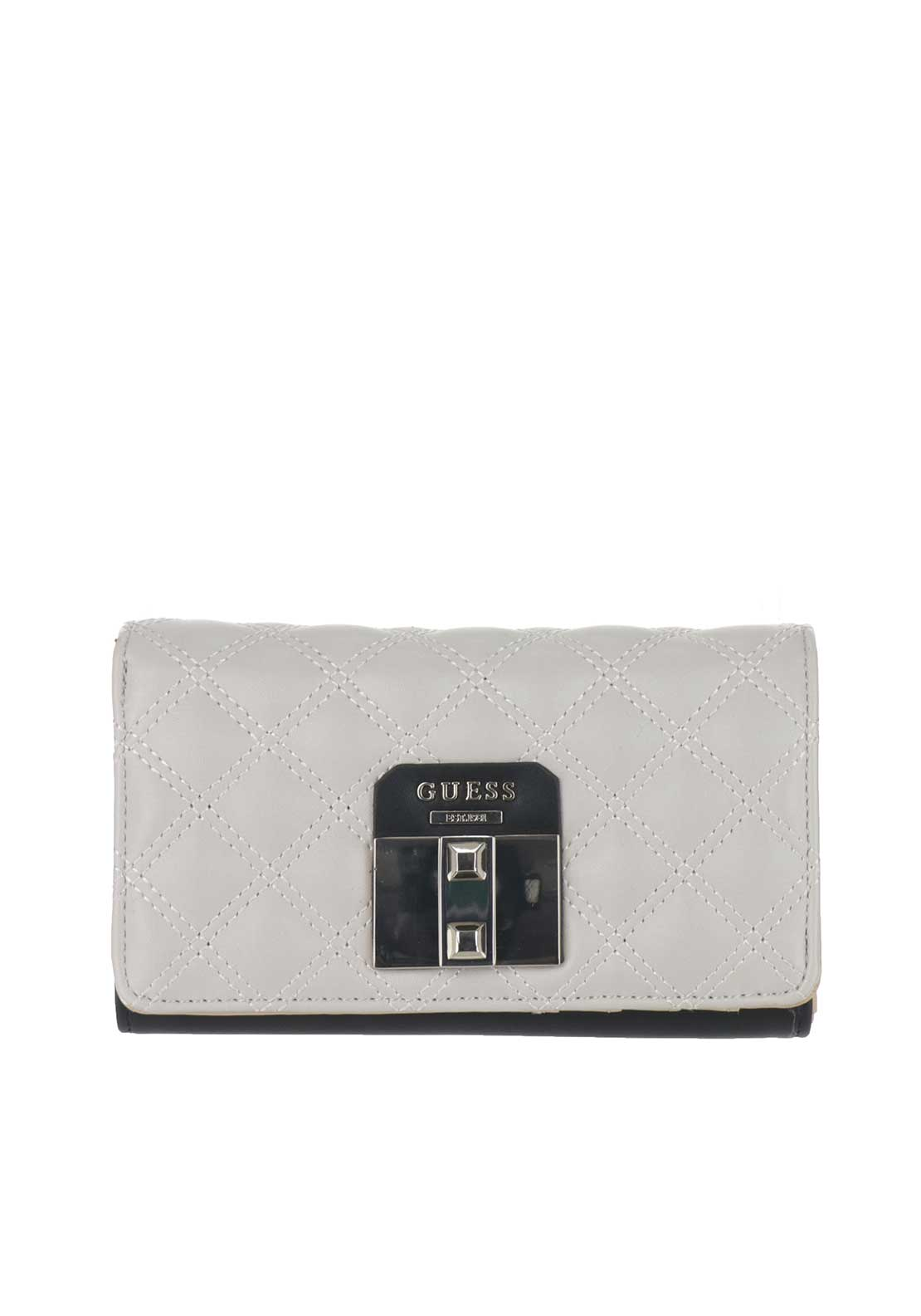 Guess Rebel Roma SLG Rollover Case Purse, Stone Multi