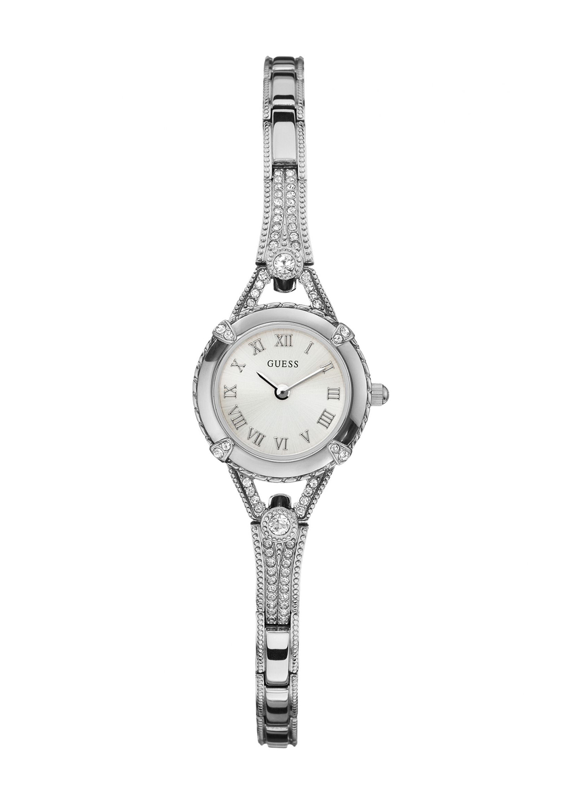 Guess Ladies Dress Watch Silver