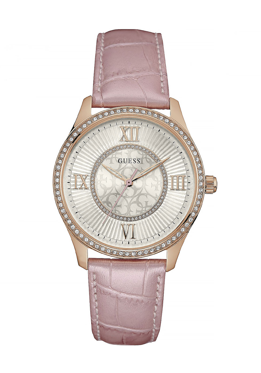 Guess Womens Broadway Watch, Pink