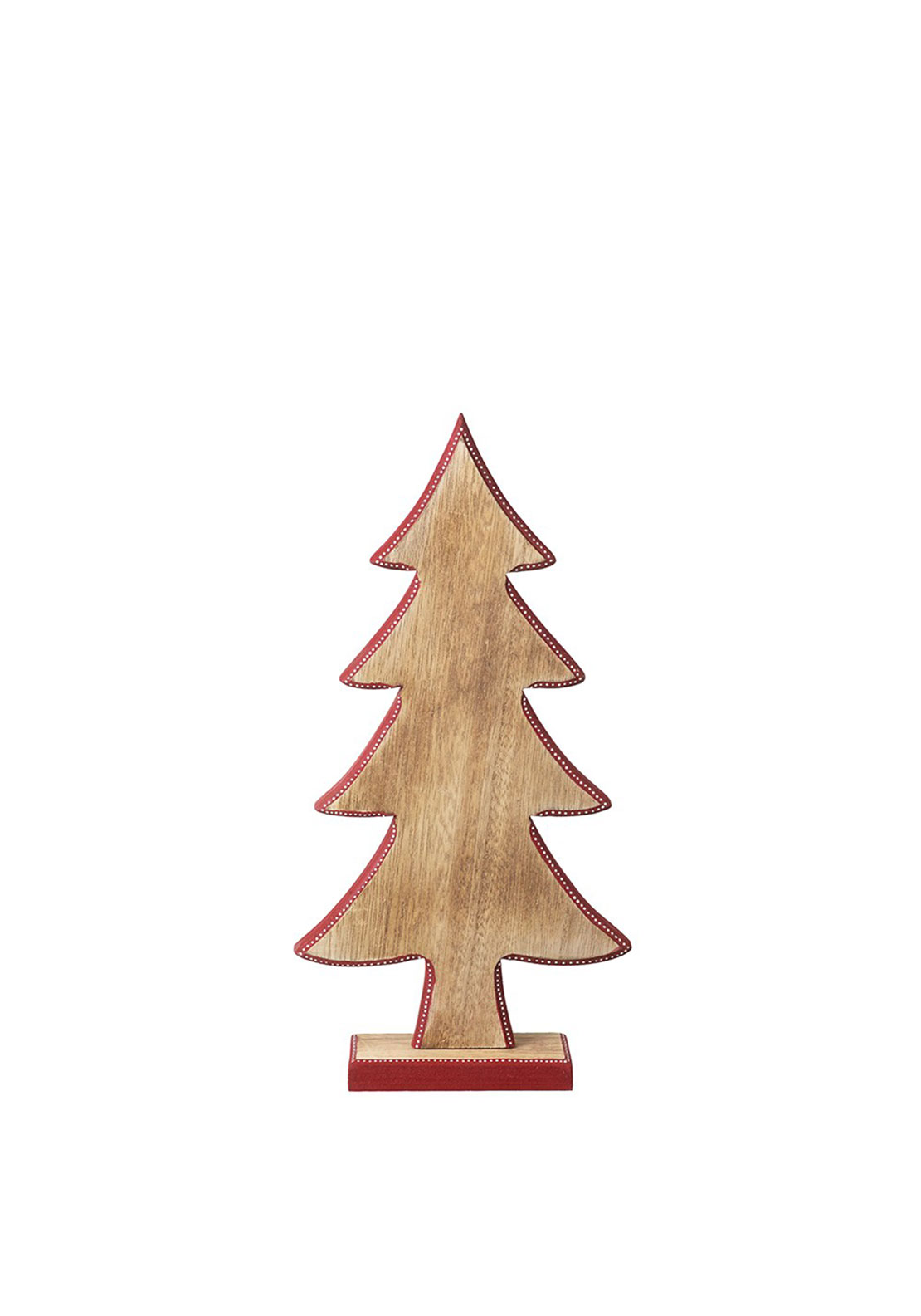 Heaven Sends Christmas Tree Wood Ornament Small