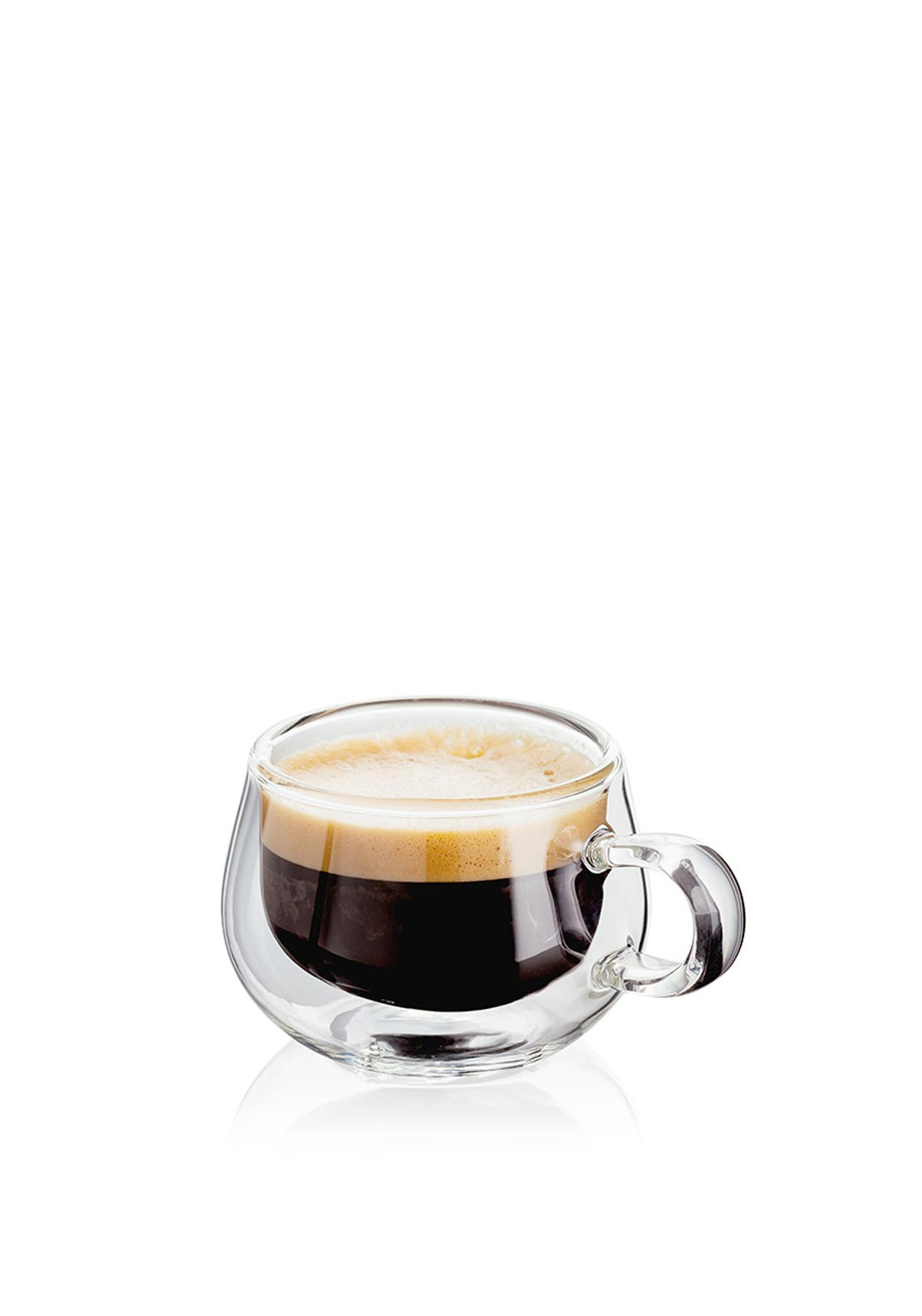 Judge Set of Two Double Walled Espresso Glasses, 75ml