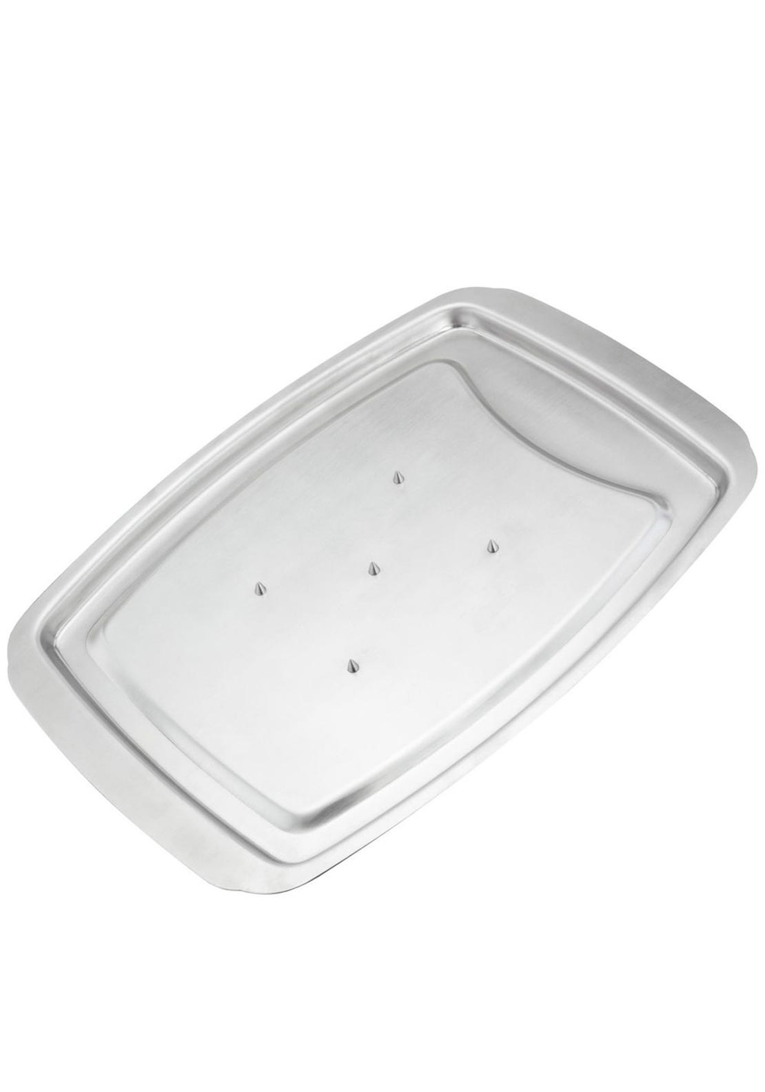 Stellar Kitchen Heavy Grade Stainless Steel Carving Tray, 38x26cm