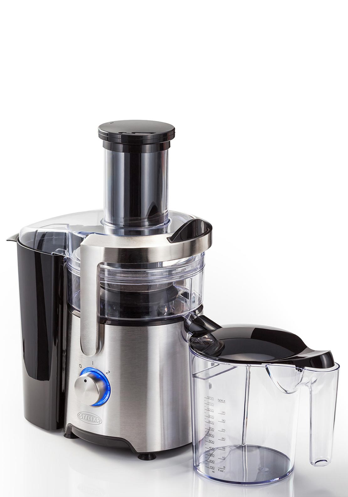 Stellar 1000 Watt Stainless Steel Juice Extractor
