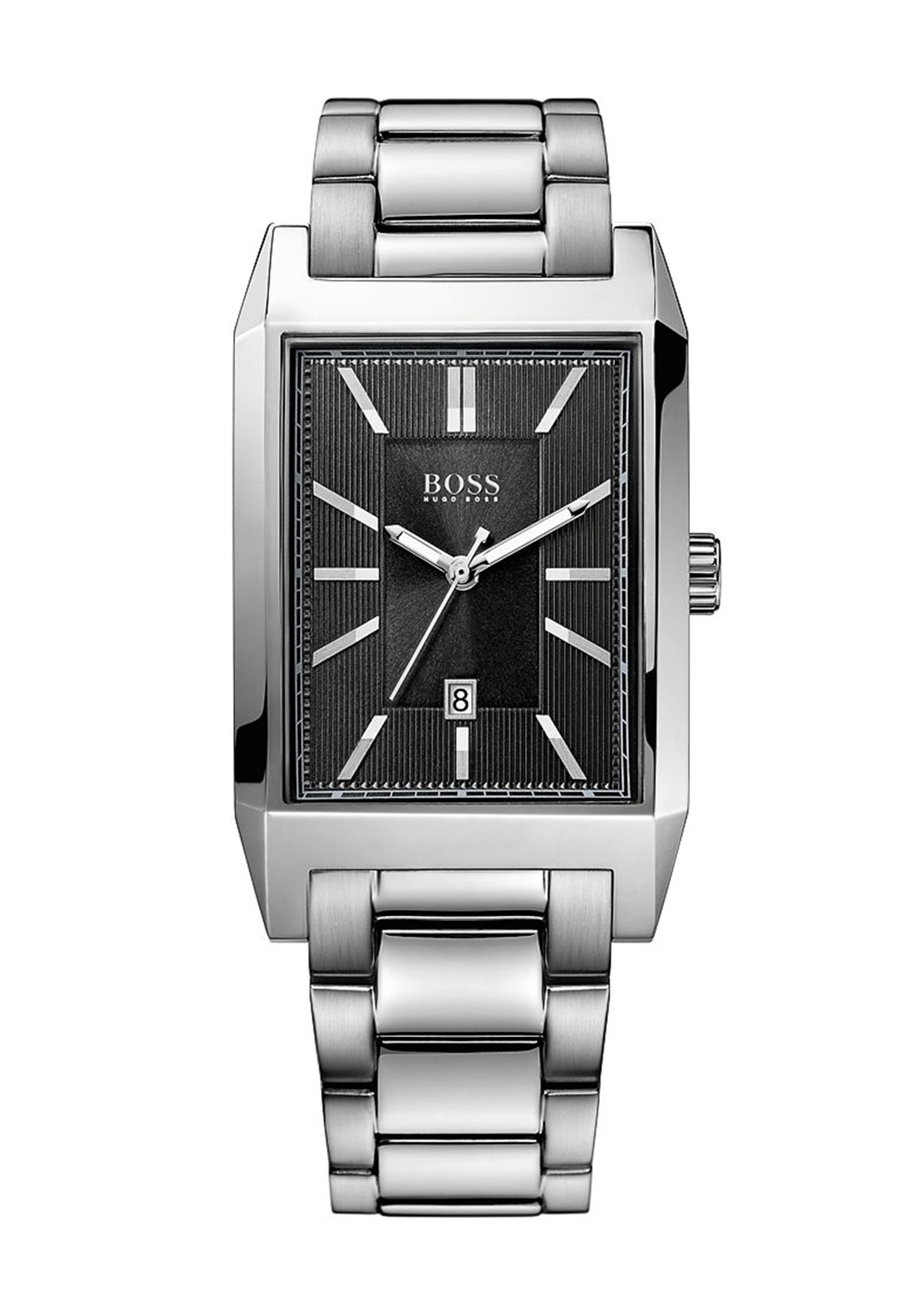 Hugo Boss Mens 1512917 Watch, Stainless Steel Silver
