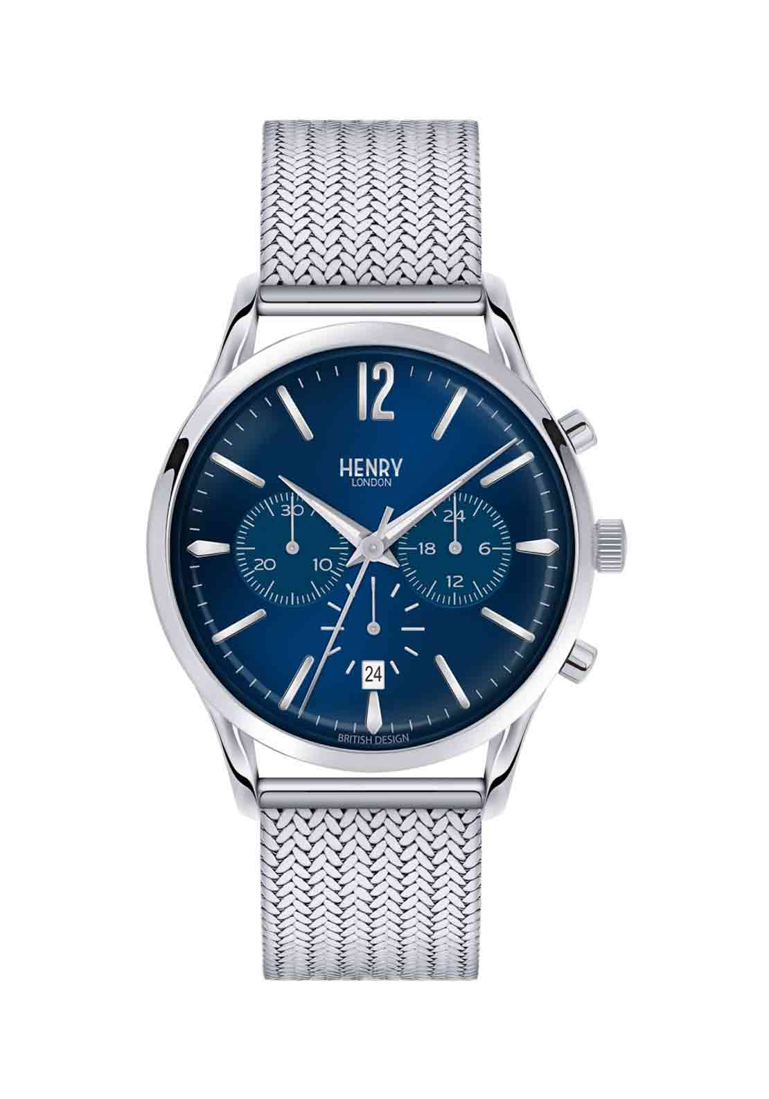 Henry London Unisex Knightsbridge Watch, Silver
