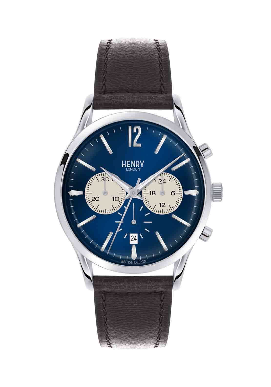 Henry London Mens Knightsbridge Watch, Navy