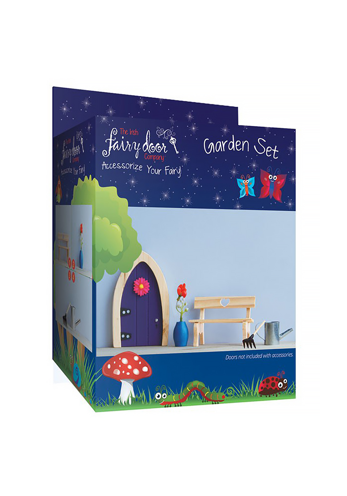 The Irish Fairy Door Company Garden Accessory Set