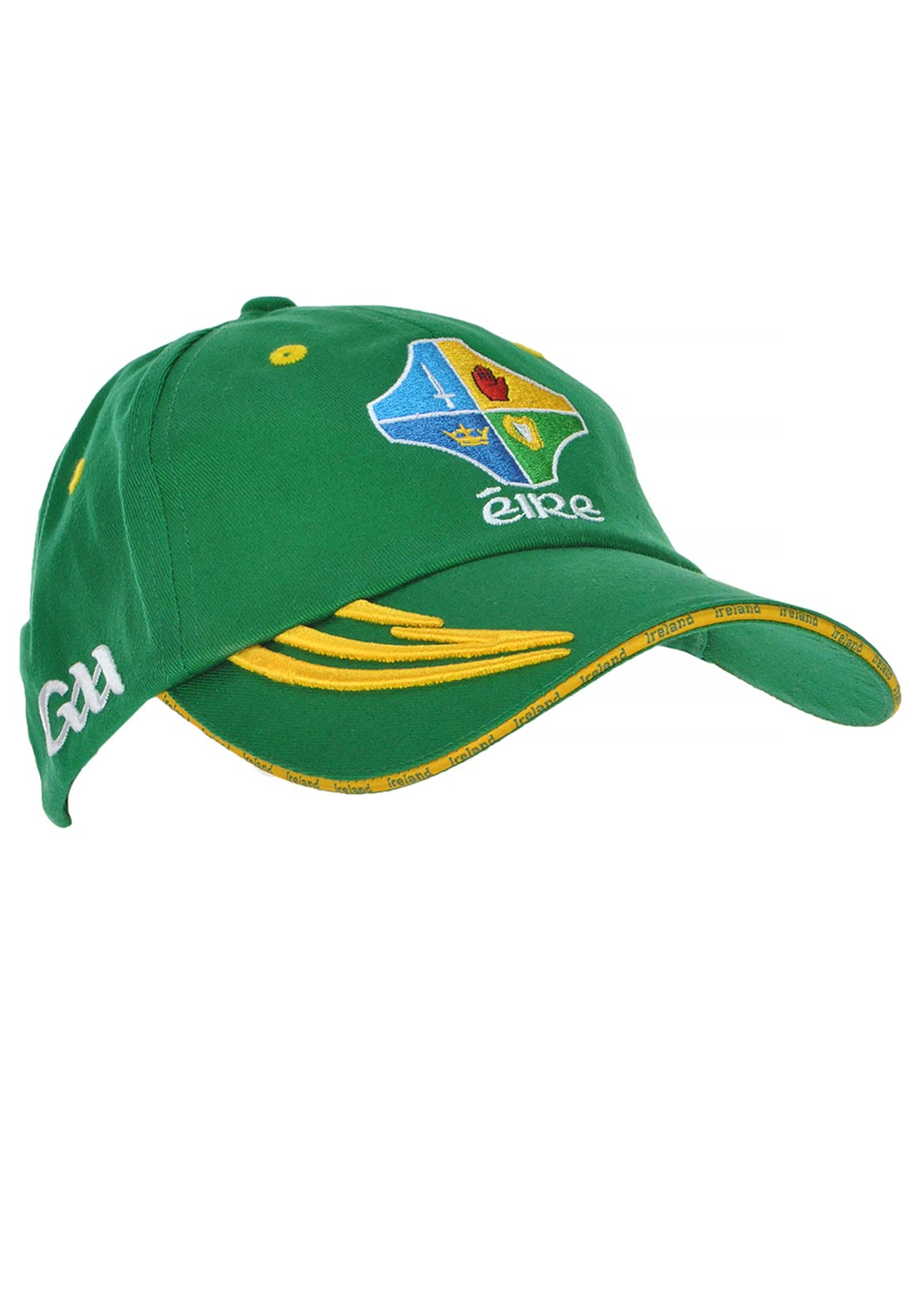 Introsport Official GAA Eire Cap, Green