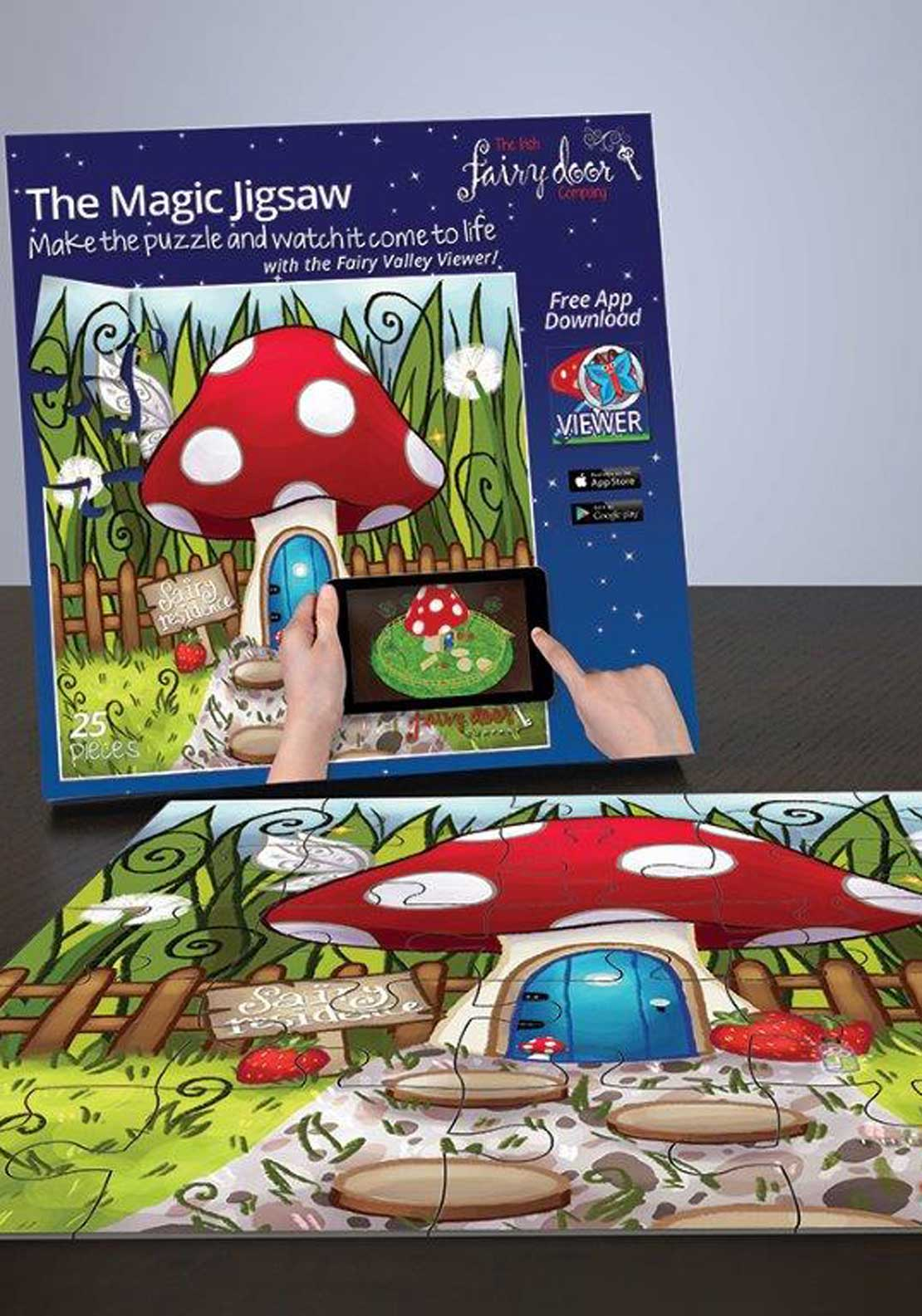 The Irish Fairy Door Company Magic Jigsaw