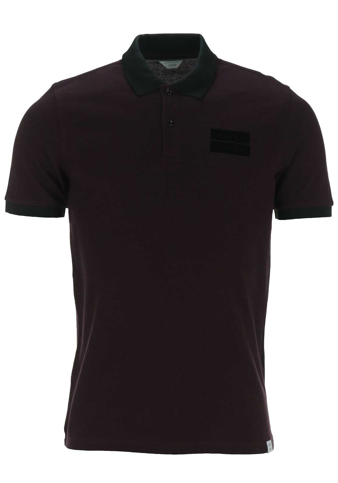 Jack & Jones Core Harry Polo Shirt, Wine