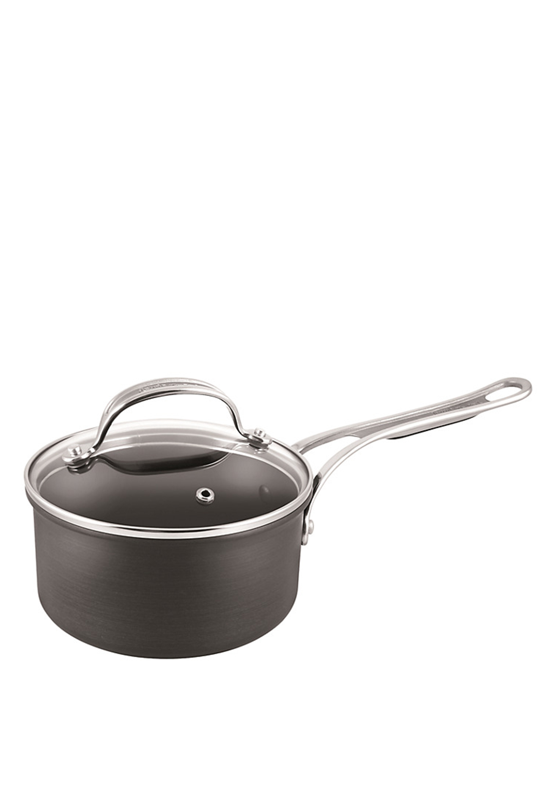 Jamie Oliver Professional Hard-Anodised Saucepan with Lid 16cm