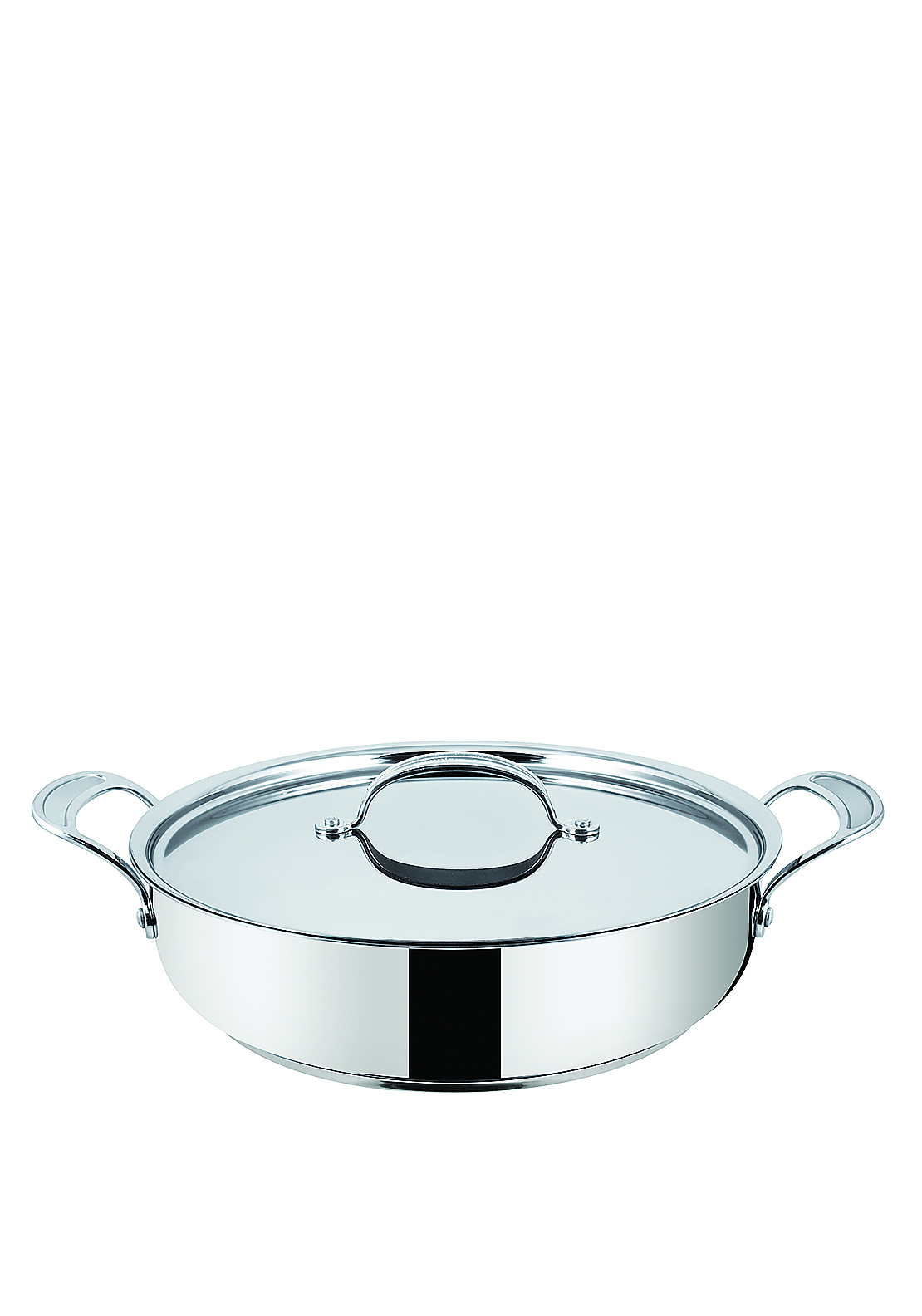 Jamie Oliver Stainless Steel Shallow Pan With Lid