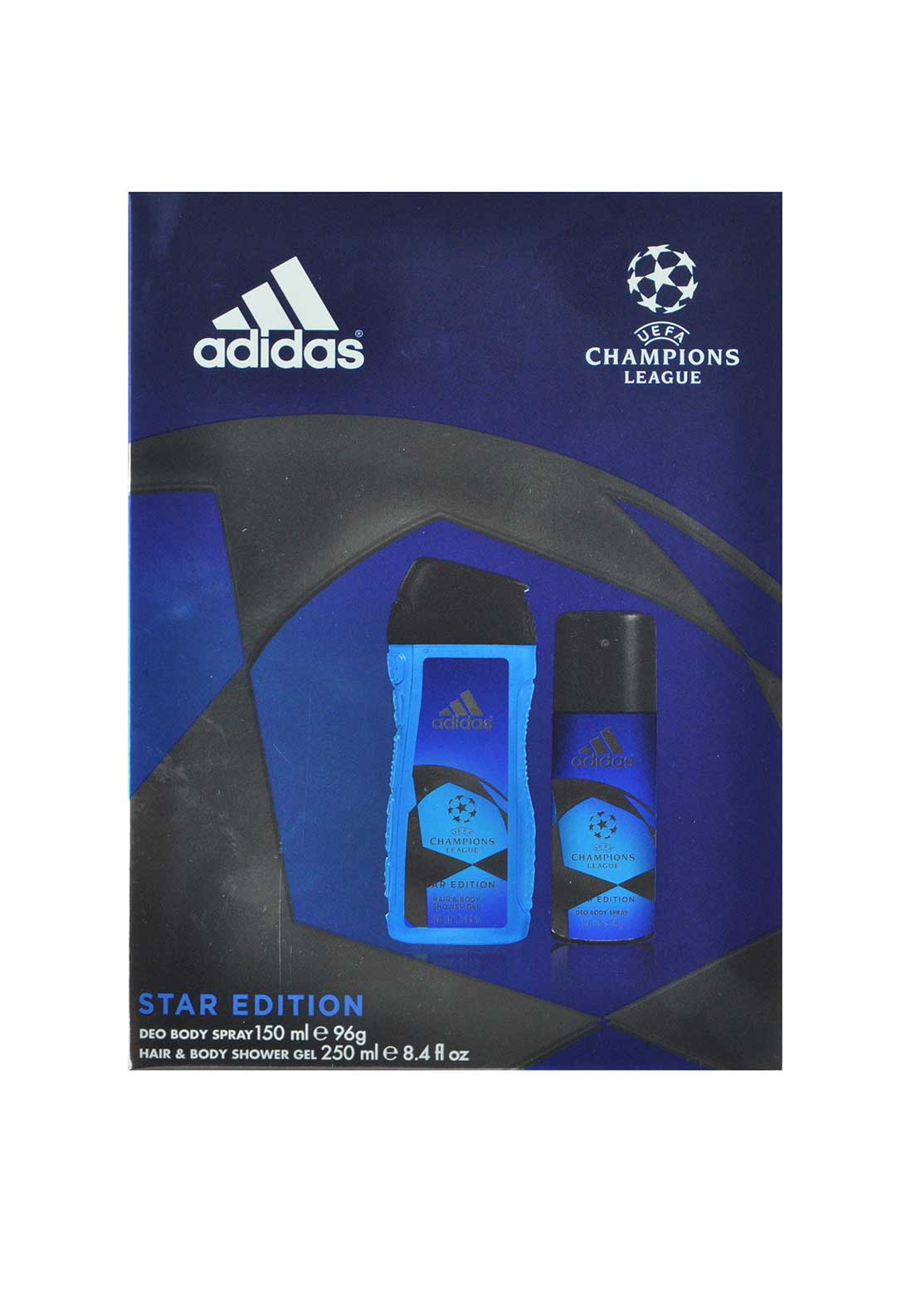 Adidas Champions League Star Edition Deodorant Gift Set