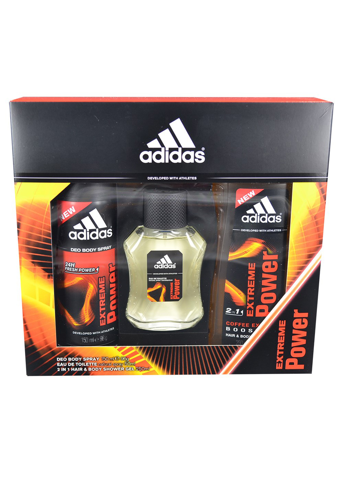 Adidas Extreme Power for Men Gift Set
