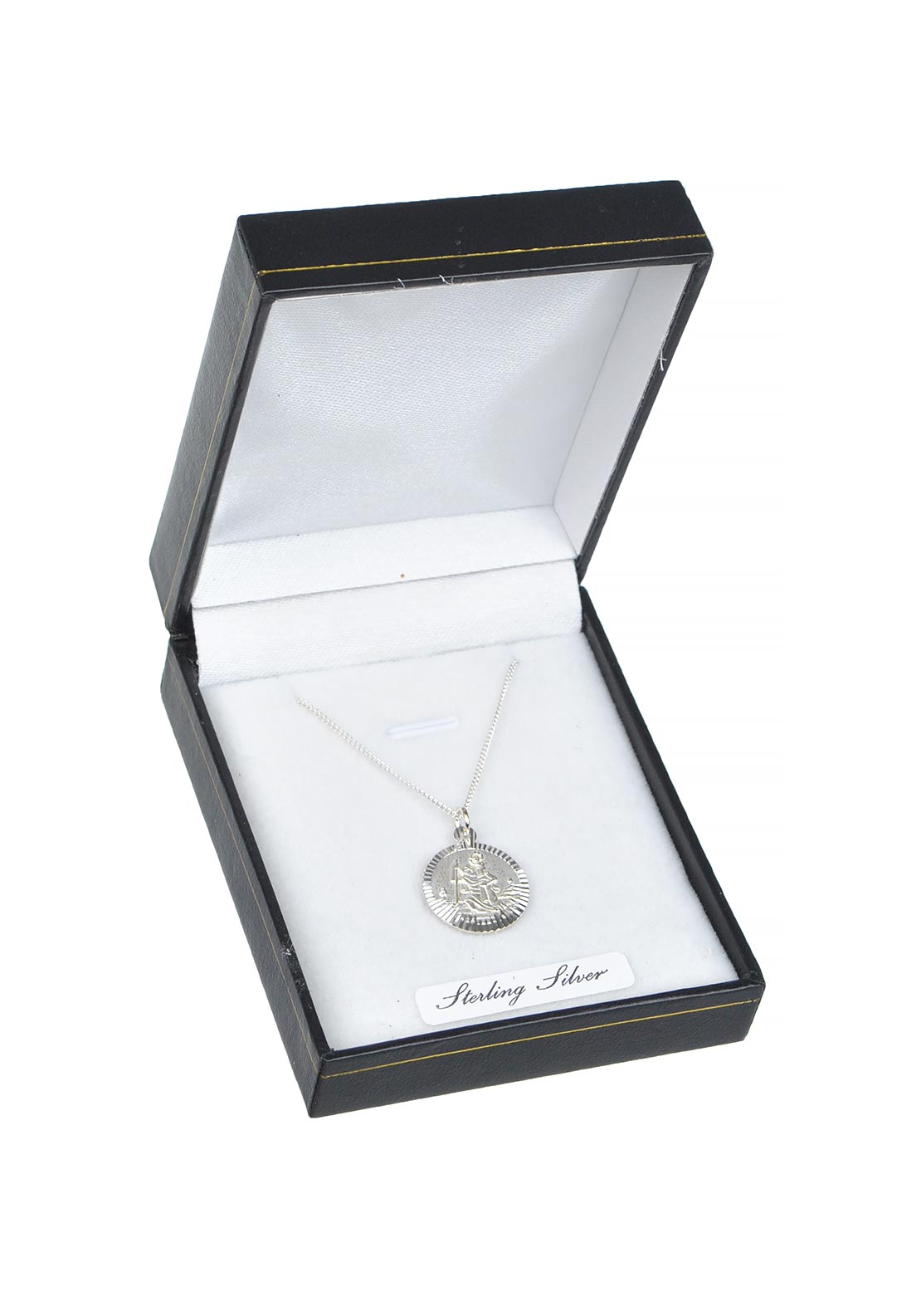Girls Sterling Silver Miraculous Medal & Chain
