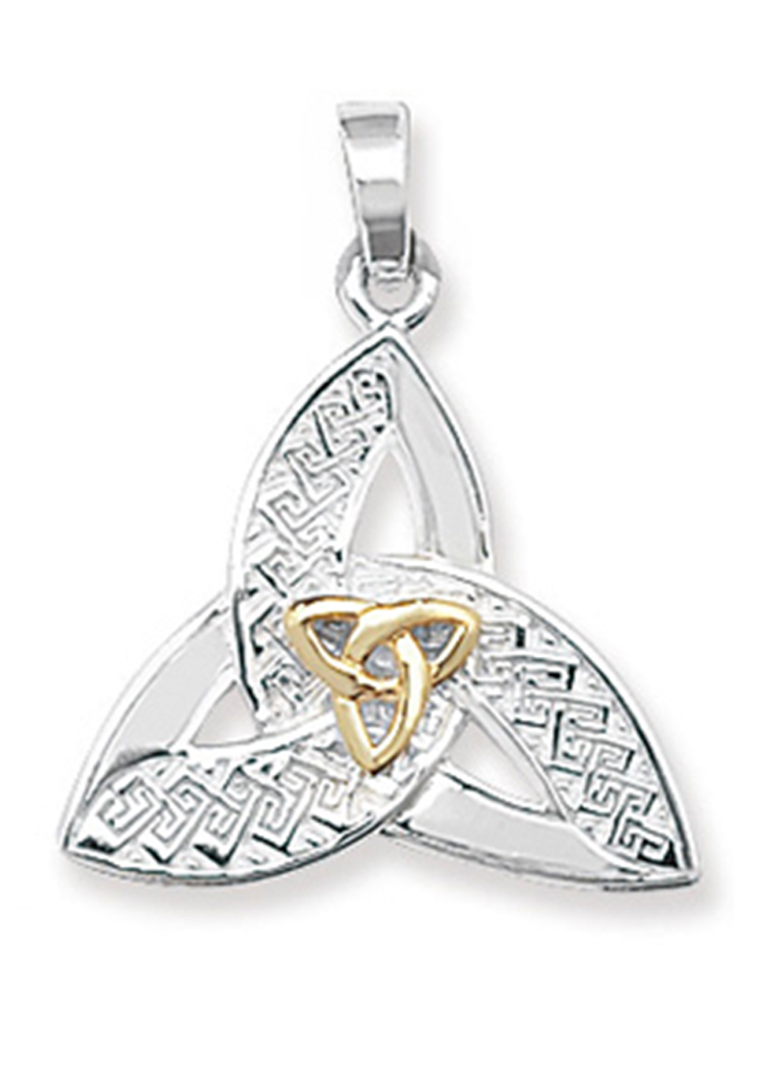 Girls Celtic Pendant with Chain