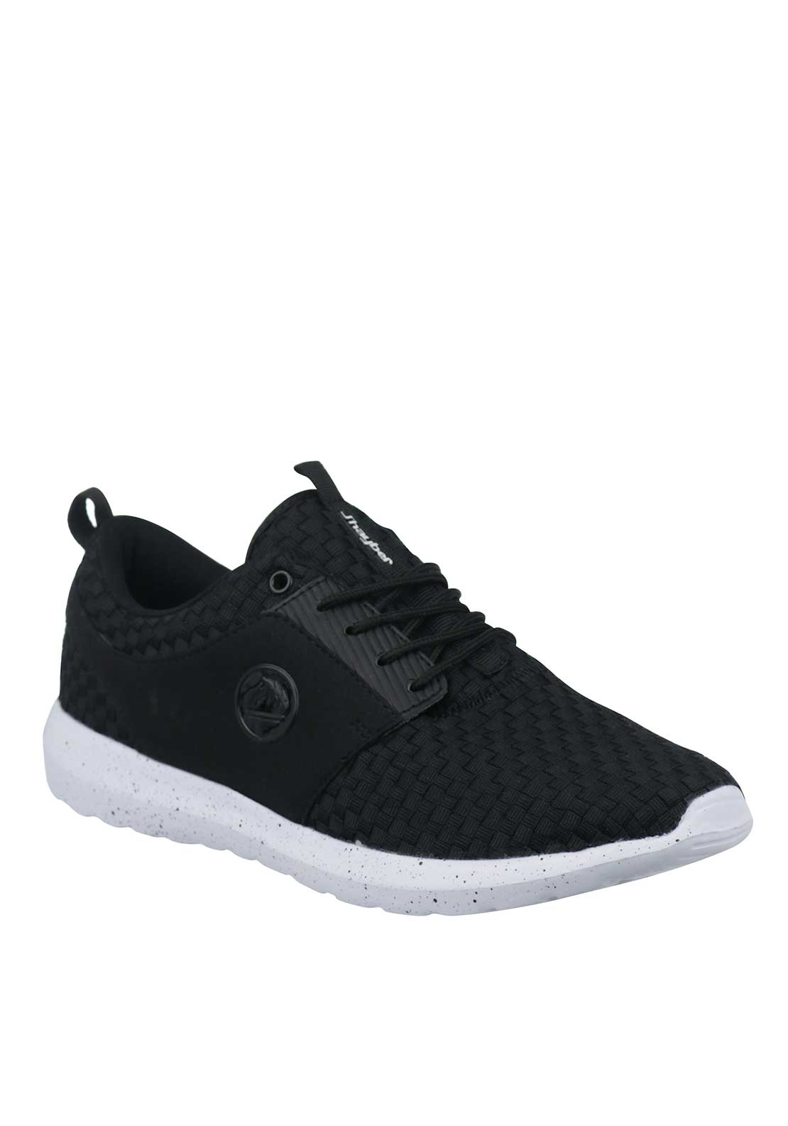 J'hayber Mens Chaforo Woven Trainers, Black