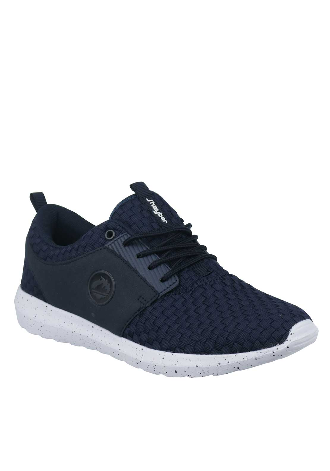 J'hayber Mens Chaforo Woven Trainers, Navy