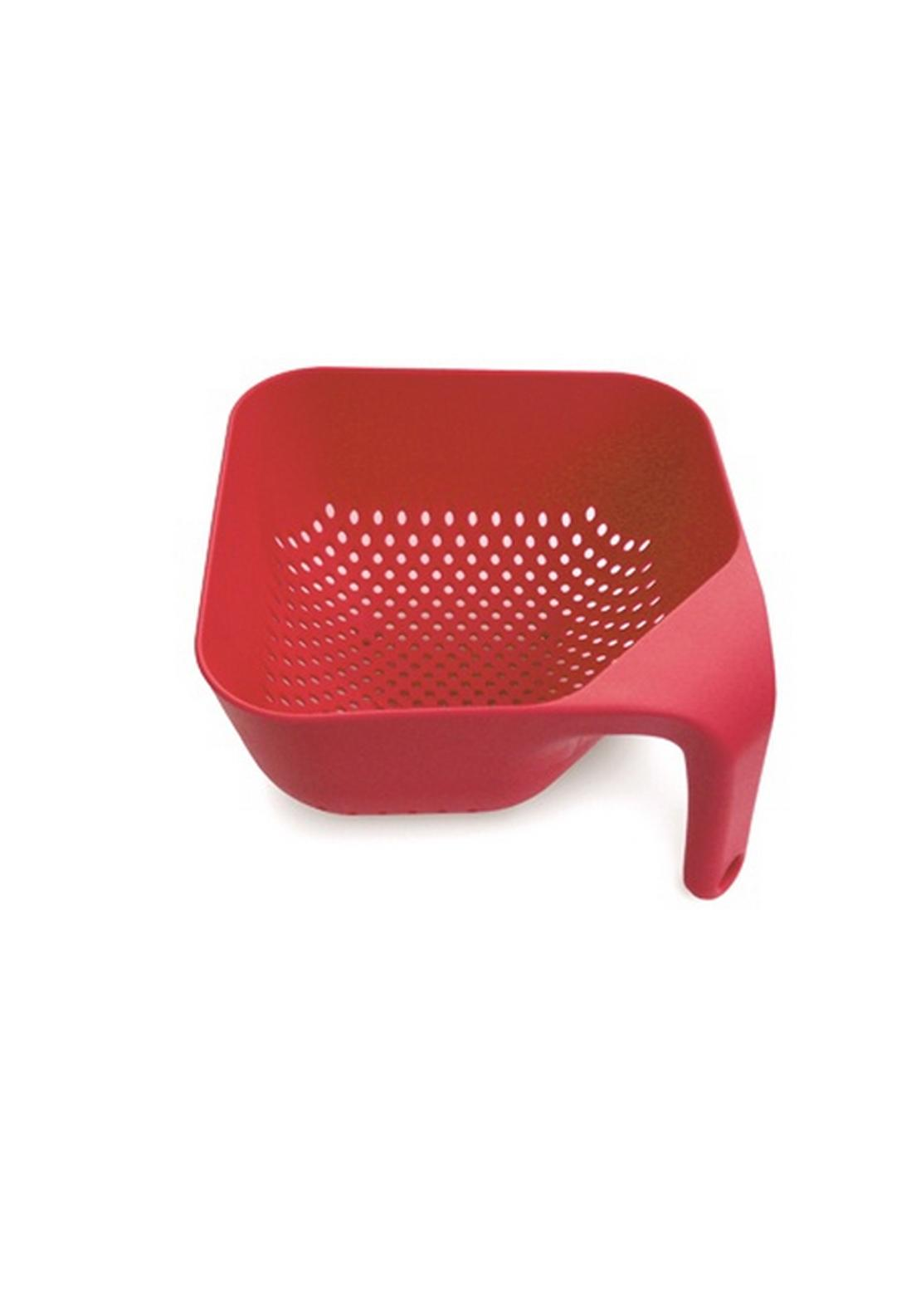Joseph Joseph Square Colander Small, Red