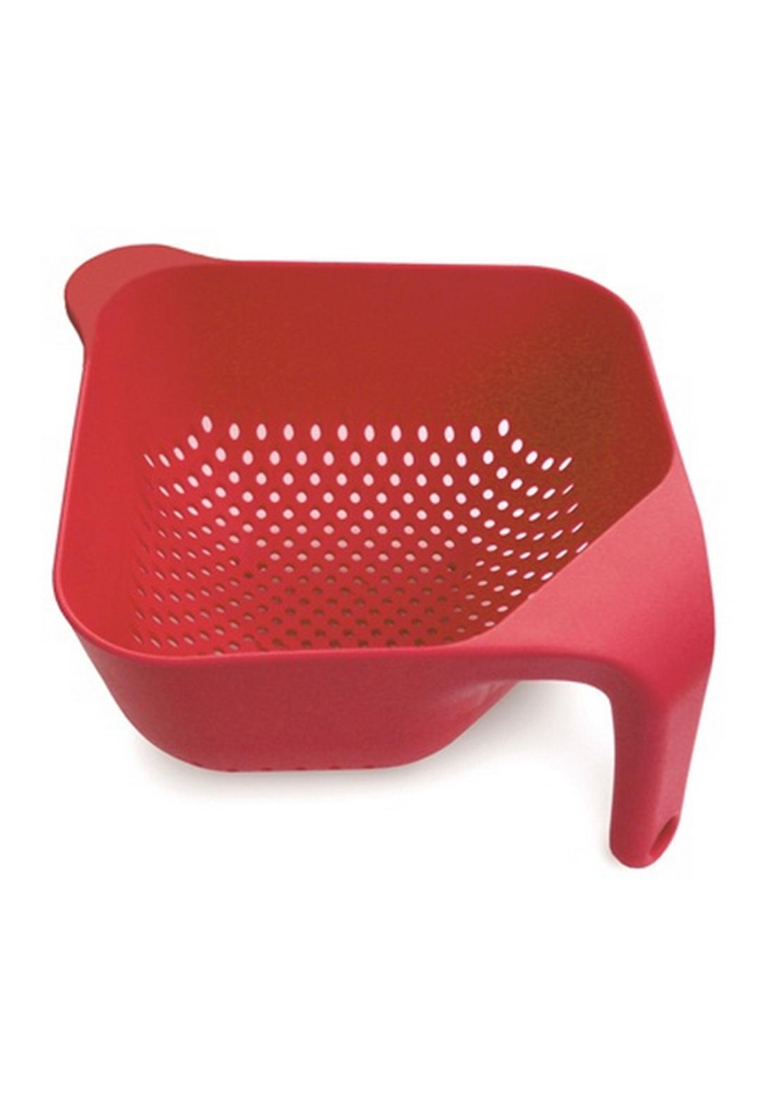 Joseph Joseph Square Colander Large, Red