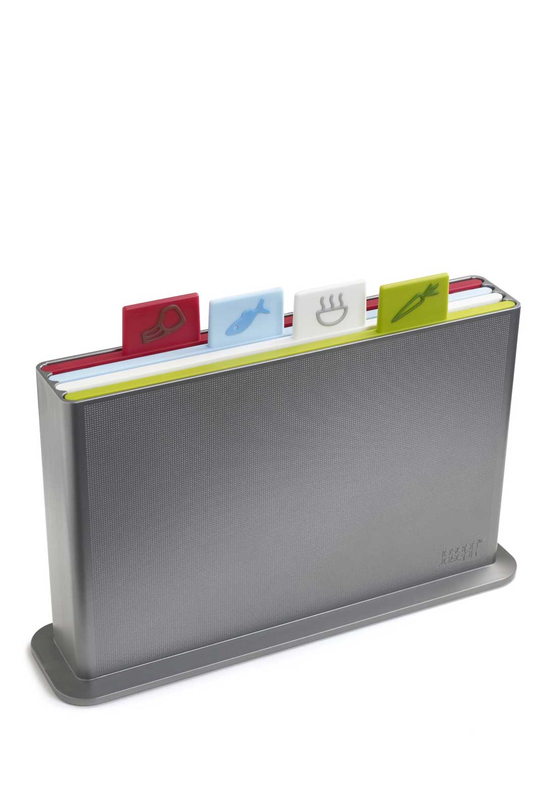 Joseph Joseph Index Advance Chopping Board Set, Silver