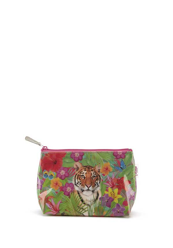 Catseye London Tiger Lily Make-up Bag
