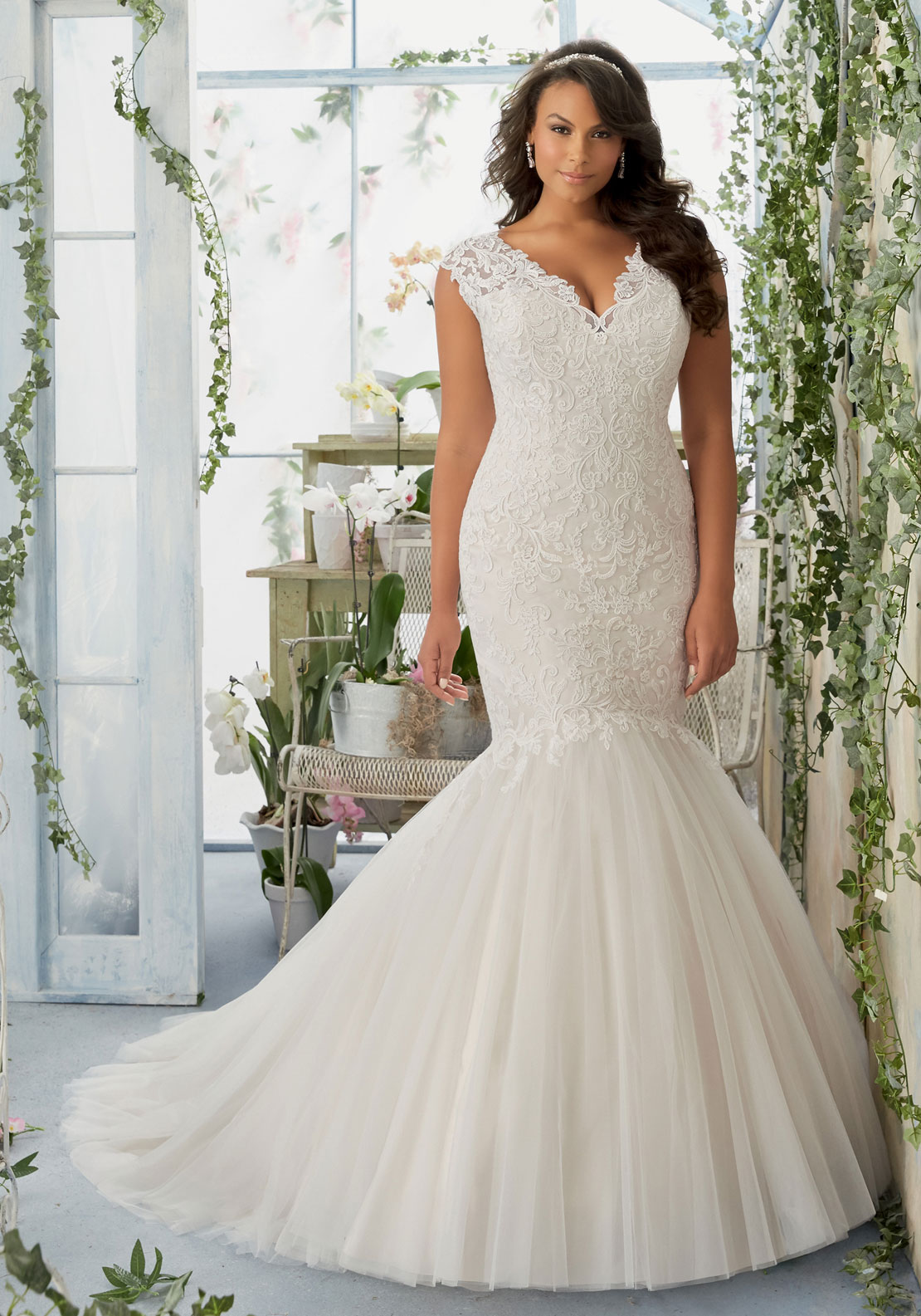 MORI LEE BRIDAL 20S IVO