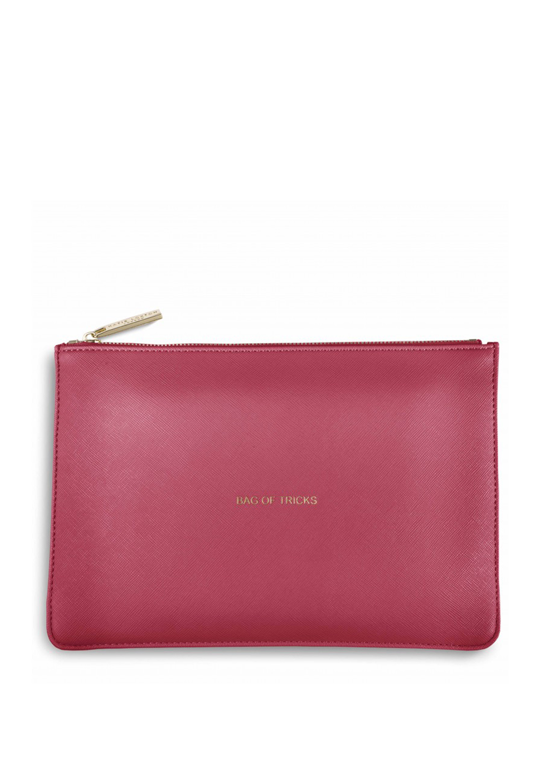 Katie Loxton Bag Of Tricks Pouch Bag, Coral Pink