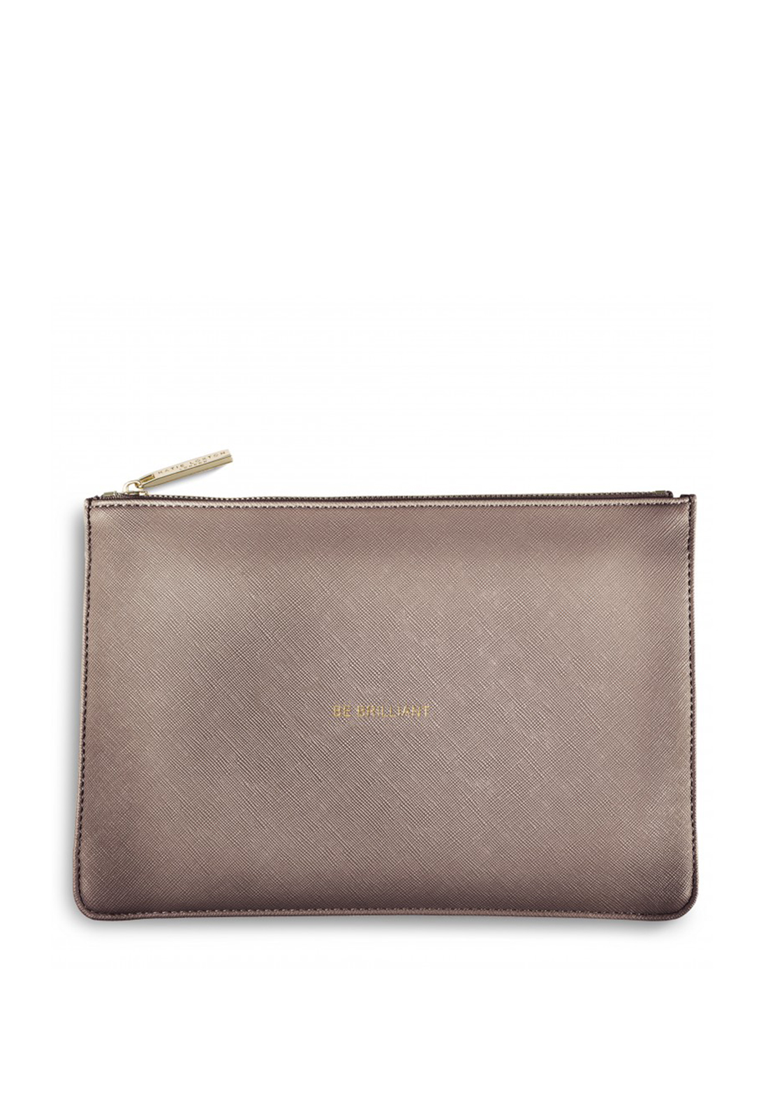 Katie Loxton Be Brilliant Pouch Bag, Rose Gold