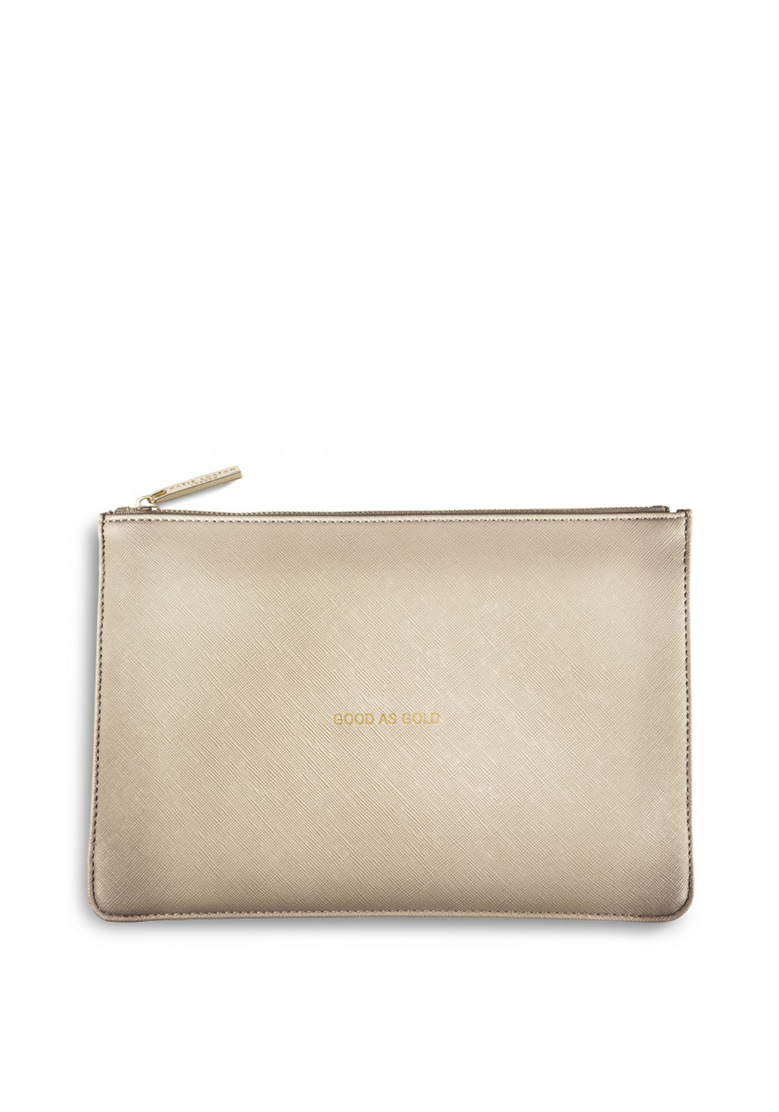 Katie Loxton Good As Gold Pouch Bag, Gold