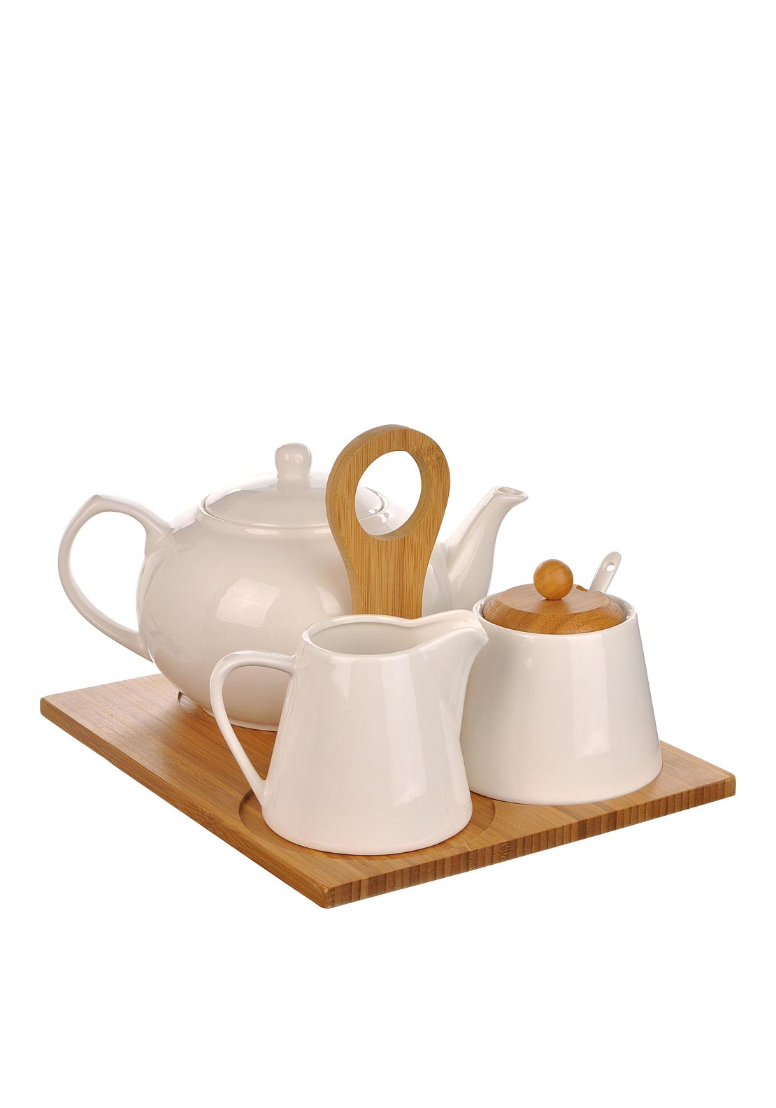 Slaneyside Pottery Tea Set, White